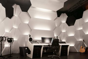 Speakers for new Lewitt studio